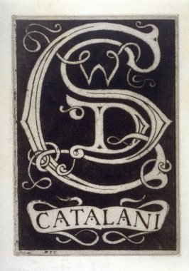 Bookplate for W.D. Catalani