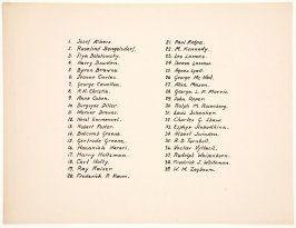 The American Abstract Artists Portfolio: List of Artists