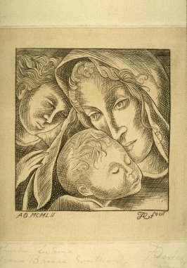 Untitled (Madonna with Child and St. John)