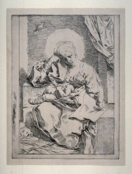 The Virgin and Child with a Bird