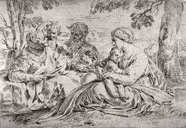Holy Family with St. Elizabeth and the Infant St. John the Baptist