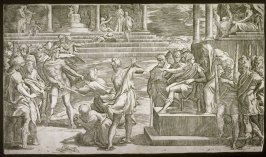The Martyrdom of St. Peter and St. Paul, after Parmigianino