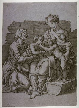 The Virgin and Child with St. Elizabeth and the Infant John the Baptist, after Raphael