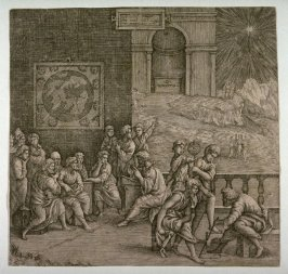 The School of an Ancient Philospoher, after an unknown artist
