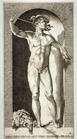 Mercury, after Rosso Fiorentino, from the series Mythological Gods and Goddesses