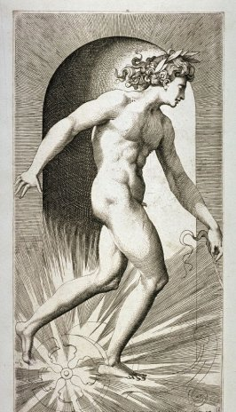 Apollo, after Rosso Fiorentino, from the series Mythological Gods and Goddesses