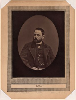 Emile Zola from the journal Galerie contemporaine, littéraire, artistique