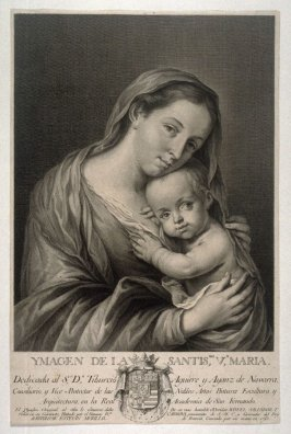 The Image of the Holy Virgin with the Infant Christ