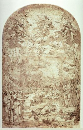 Ascension of St. Paul the Hermit (?)