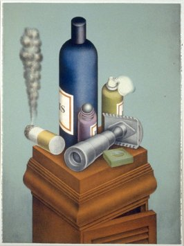 Still Life with Safety Razor