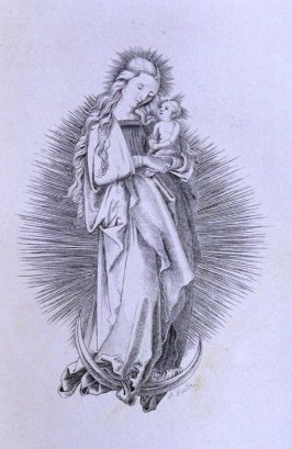 Virgin and Child by Carter, opposite apge 28 in the book The Life of John Carter by Frederick James Mills (New York: Hurd and Houghton, 1868)