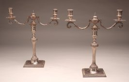Candlestick with two-candle insert