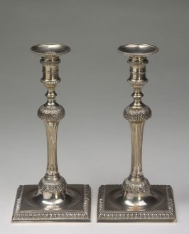 Candlestick with bobeche