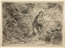 The Angel Awakening Joseph in the Presence of the Virgin and Child