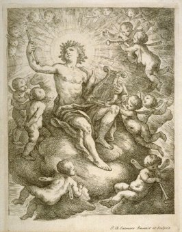 Apollo Surrounded by Putti
