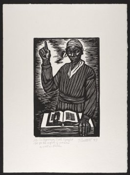 I'm Sojourner Truth I fought for the rights of women as well as Blacks, 1947