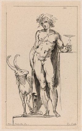 Bacchus, from the Cabinet du Roi