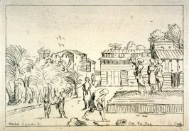 House and Garden of a Turk, from the Cabinet du Roi