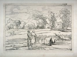 Landscape with a Figure in the Water, from the Cabinet du Roi