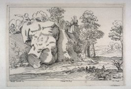 Landscape with the Ruins of a Collosal Torso, from the Cabinet du Roi