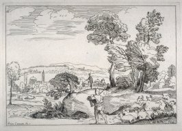 Landscape with Herdsman and Cattle, from the Cabinet du Roi