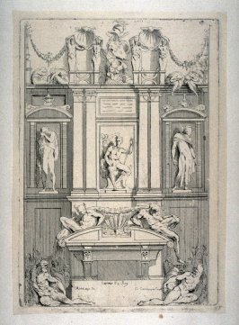 Study for the Medici Tomb, from the Cabinet du Roi