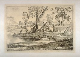 Landscape with Six Figures, from the Cabinet du Roi