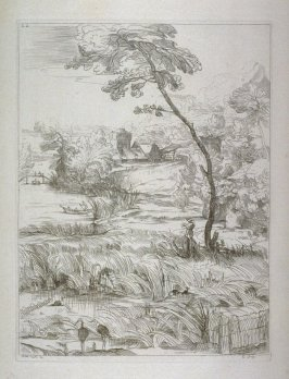 Landscape with a Marsh, no. 22 from the Cabinet du Roi