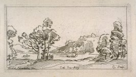 Small Landscape with a River, from the Cabinet du Roi