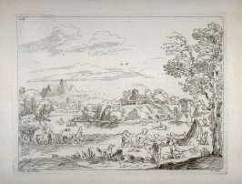 Landscape with Bathers, from the Cabinet du Roi
