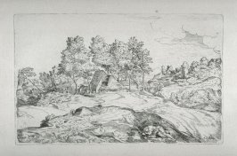 Landscape with a Sleeping Man, from the Cabinet du Roi