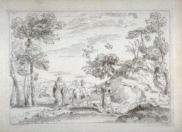 The Flight into Egypt, from the Cabinet du Roi