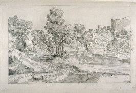 Landscape with the Flight into Egypt, from the Cabinet du Roi