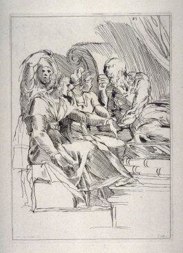 Four Figures, from the Cabinet du Roi