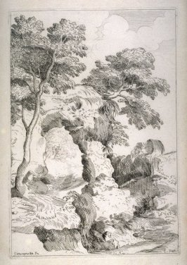 Landscape with a Natural Arch, from the Cabinet du Roi