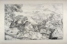 Mountainous Landscape, from the Cabinet du Roi
