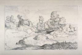 Landscape with Rustic Buildings, from the Cabinet du Roi