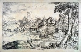 Landscape with a Watermill, from the Cabinet du Roi