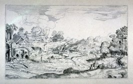 Landscape with Figures, from the Cabinet du Roi