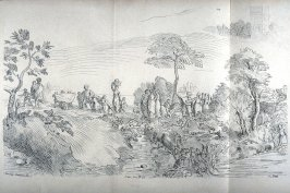 Wedding Party in a Landscape, no. 135 from the Cabinet du Roi