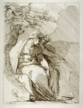 A Sibyl, no. 93 from the Cabinet du Roi