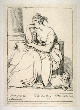 Seated Woman, from the Cabinet du Roi