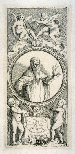 Saint Anthony, from the Cabinet du Roi