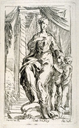 A Seated Woman, from the Cabinet du Roi
