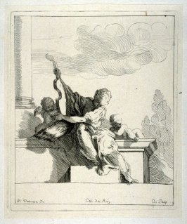 Woman Playing a Violin, from the Cabinet du Roi
