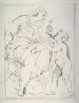 Virgin and Child, from the Cabinet du Roi
