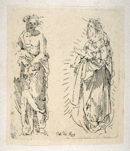 Ecce Homo and Madonna and Child, from the Cabinet du Roi