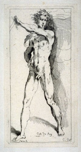 Nude Man with a Sword, from the Cabinet du Roi