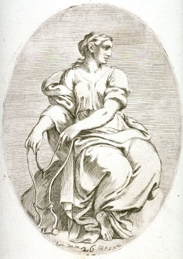 Moderation, after Annibale Carracci from the Farnese Gallery Panels