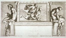 Apollo and Hyacinthus, after Annibale Carracci, pl.21 from the series The Farnese Gallery
